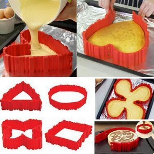 Baking Mold Snake-4pcs