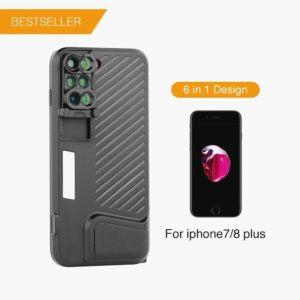 6-in-1 Mobile Lens Case: Capture that Perfect Shot