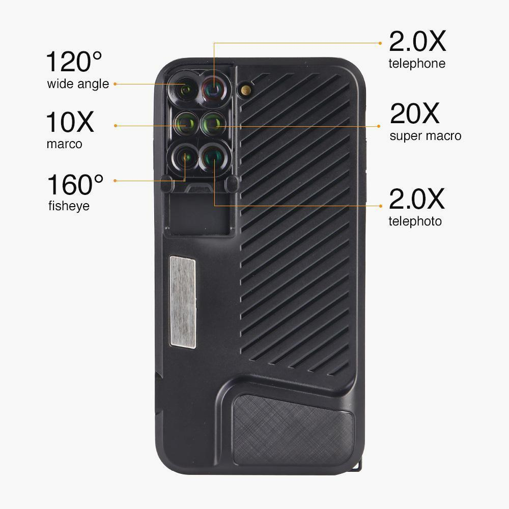 6 In 1 Mobile Lens Case Capture That Perfect Shot Pama
