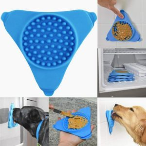 Dog Bowl Slow Feeder Lick Pad