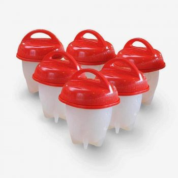 Egglettes 6 Pack – Hard Boiled Egg Cooker