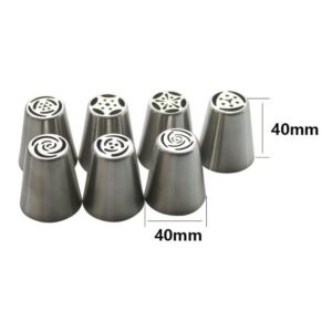 13pcs/Set Pastry Nozzles And Coupler Icing Piping Tips Made With Durable Stainless Steel