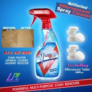 Effervescent Spray Cleaner