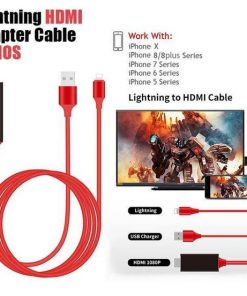 HDMI Adapter Cable For iPhone – Plug and Play