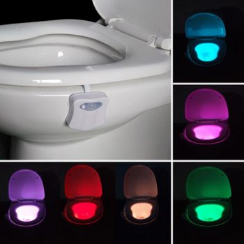 Toilet LED Light Motion Sensor