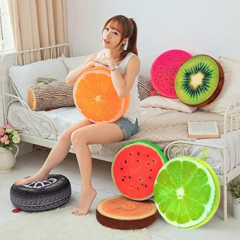 Decorative Fruit Pillows