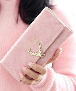 Deer Long Wallet