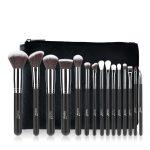 FLAWLESS 15Pcs Blending Cosmetic Shadow Makeup Brushes Set
