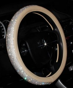 Sparkly Crystal Steering Wheel Cover