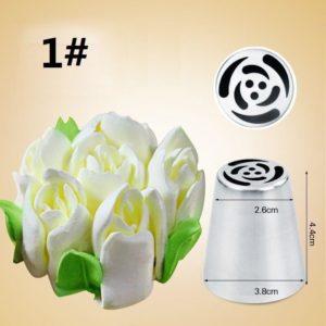 7PCS Russian Tulip Icing Piping Nozzle