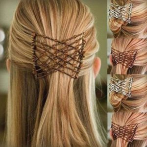 Flexible Butterfly Hair Clip