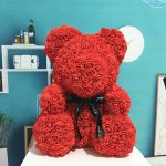 Valentine Special: Bear Made Of Roses OFFER
