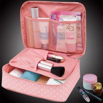 Womens Cosmetics Waterproof Travel Bag