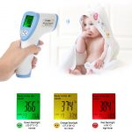 Digital Thermometer Non-Contact With LCD Backlight