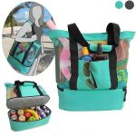 Designer Insulated Food Picnic Cooler Bag
