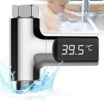 Premium LED Self-Powered Shower Thermometer