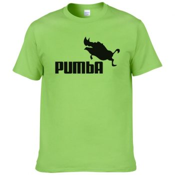 Funny Cute T-shirts Pumba Men