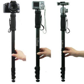 Lightweight Professional Alloy Camera Tripod/Monopod