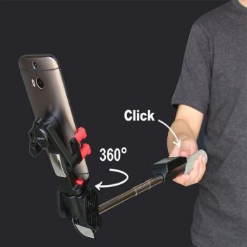 Universal 360° Rotation Selfie Stick
