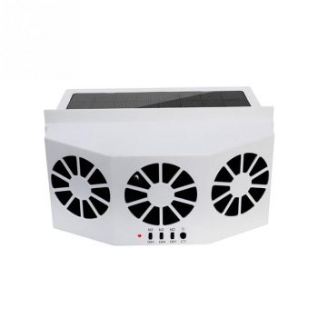 Solar Car Cooler Exhaust Heat Exhaust Fan