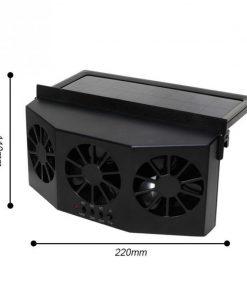 Solar Car Cooler Exhaust Heat Exhaust Fan