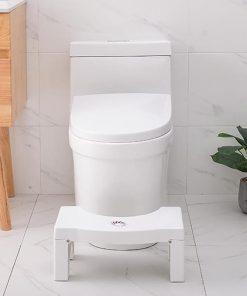 Multi-Functional Folding Toilet Stool