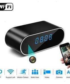 1080P Wireless Alarm Clock Security Camera