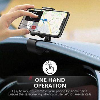 Dashboard Clip Mount Car Phone Holder