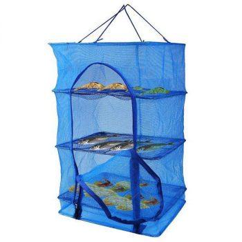 Multi-function Folding Fish Mesh Hanging Drying Net