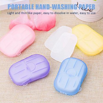 Portable Hand-Washing Paper