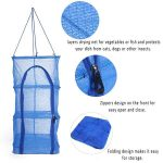 Multi-function Folding Fish Mesh Hanging Drying Net