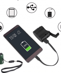 Hand Crank USB Phone Charger
