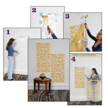Reusable Decor Painting Stencils(Set of 4)