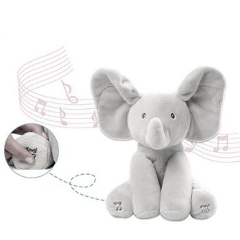 Baby Animated Flappy Elephant Plush Toy