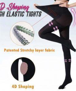 4D Shaping High-Elastic Tights