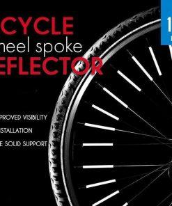 Bicycle Wheel Spoke Reflector (12PCS)