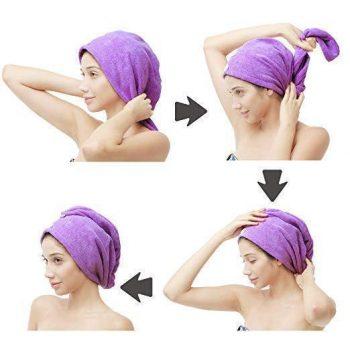 Quick Dry Hair Wrap