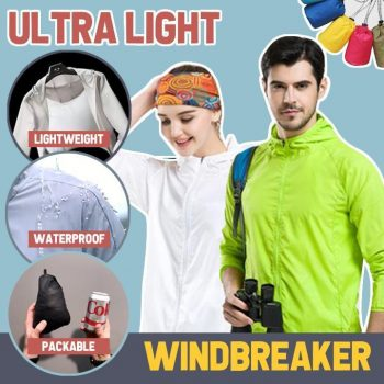 Ultra Light Windbreaker (Unisex)