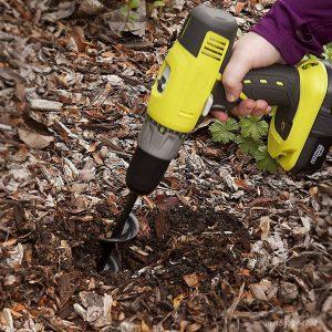 Garden Spiral Hole Drill Planter
