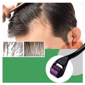 Hair Regrowth Micro-Needling Derma Roller