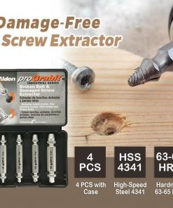 Damage-Free Screw Extractor(Set of 4)