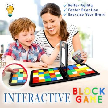 Interactive Block Game