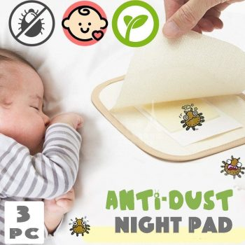 Anti-Dust Mite Pads(Set of 3)