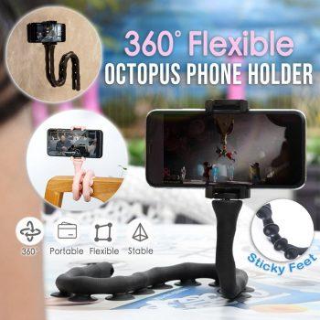 360° Flexible Octopus Phone Holder