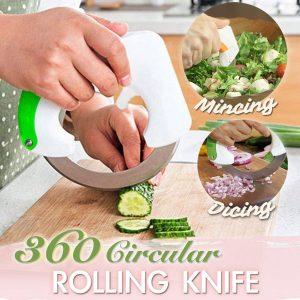 360 Circular Rolling Knife