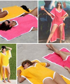 2-in-1 Beach Tanning Towel