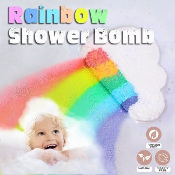 Rainbow Shower Bomb (Set of 5)