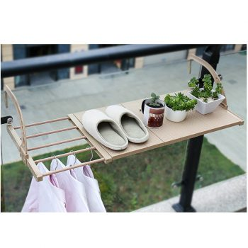 Multifunction Home Balcony Hanging Shelf Adjustable