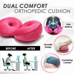 Foldable Dual Comfort Orthopedic Cushion