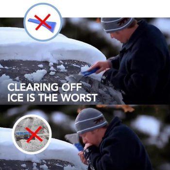 Car Windshield Ice Scraper